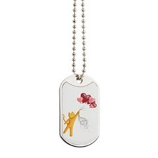 Mr. Whiskers Flies Away Dog Tags