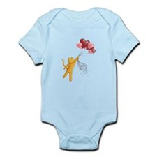 Mr. Whiskers Flies Away Body Suit
