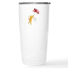 Mr. Whiskers Flies Away Travel Mug