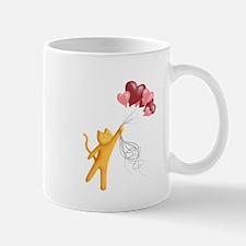 Mr. Whiskers Flies Away Mugs