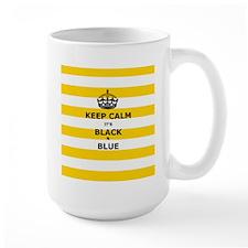 Keep Calm Its Black And Blue Mugs
