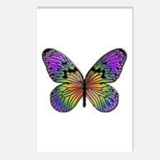Butterfly Design Postcards (Package of 8)