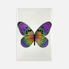 Butterfly Design Rectangle Magnet