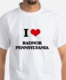 I love Radnor Pennsylvania T-Shirt