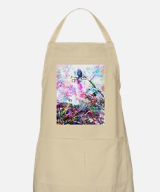 owl be blue without you Apron