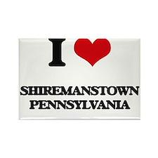 I love Shiremanstown Pennsylvania Magnets