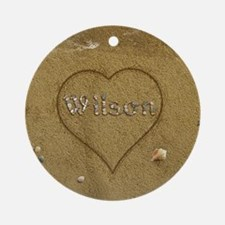 Wilson Beach Love Ornament (Round)