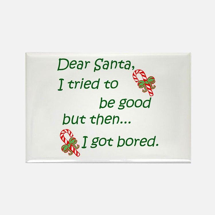 Dear Santa Rectangle Magnet (100 pack)
