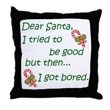 Dear Santa Throw Pillow