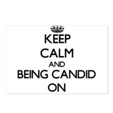 Keep Calm and Being Candi Postcards (Package of 8)