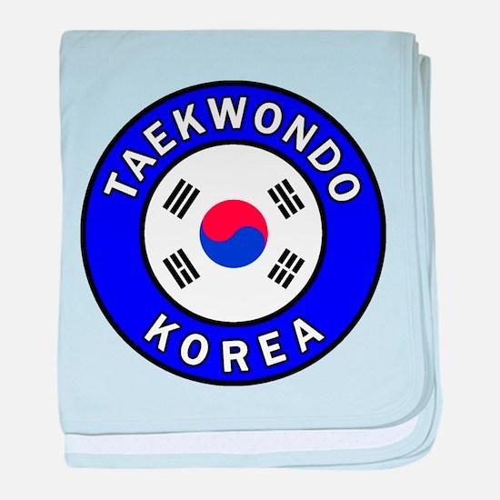 Taekwondo baby blanket