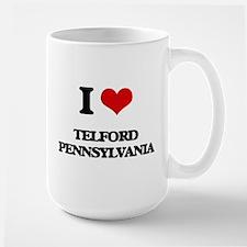 I love Telford Pennsylvania Mugs