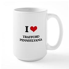 I love Trafford Pennsylvania Mugs