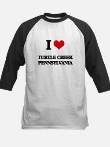 I love Turtle Creek Pennsylvania Baseball Jersey