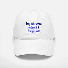 Intolerant Fuckhead Baseball Baseball Cap
