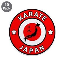 "Karate 3.5"" Button (10 pack)"