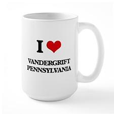 I love Vandergrift Pennsylvania Mugs