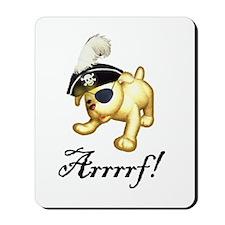 Pirate Pup Mousepad