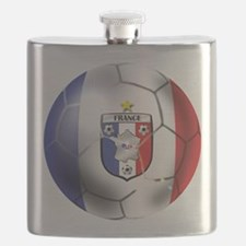 French Soccer Ball Flask