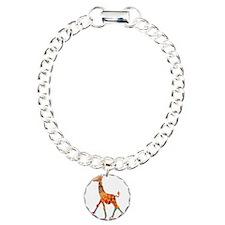 Roller Skating Giraffe Bracelet
