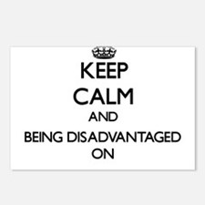 Keep Calm and Being Disad Postcards (Package of 8)