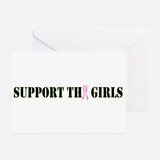 Support the Girls Greeting Card