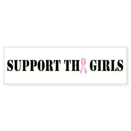 Support the Girls Bumper Sticker
