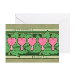 Bleeding Heart Greeting Card