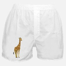 Very Tall Giraffe Illustration Boxer Shorts