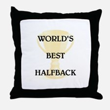 HALFBACK Throw Pillow