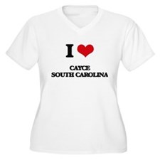 I love Cayce South Carolina Plus Size T-Shirt