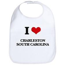 I love Charleston South Carolina Bib