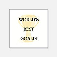 "GOALIE Square Sticker 3"" x 3"""