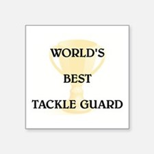 "TACKLE GUARD Square Sticker 3"" x 3"""