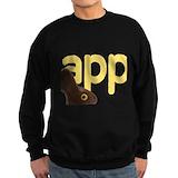 Happy bunny day Sweatshirt (dark)
