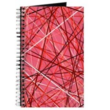 Lines Over Pink Journal