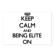 Keep Calm and BEING ELITE Postcards (Package of 8)