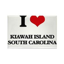 I love Kiawah Island South Carolina Magnets