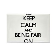 Keep Calm and Being Fair ON Magnets