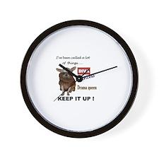Tallulah Barkhead-KEEP IT UP! Wall Clock