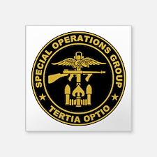 """SOG - Tertia Optio Square Sticker 3"""" x 3"""""""