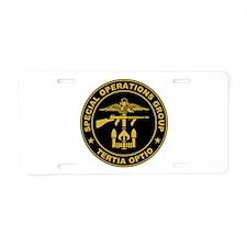 SOG - Tertia Optio Aluminum License Plate