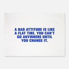A bad attitude is like a flat tire You can t go an