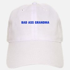 Bad Ass Grandma-Akz blue 500 Baseball Baseball Baseball Cap