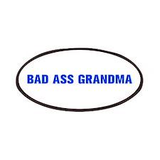 Bad Ass Grandma-Akz blue 500 Patch