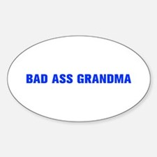 Bad Ass Grandma-Akz blue 500 Decal