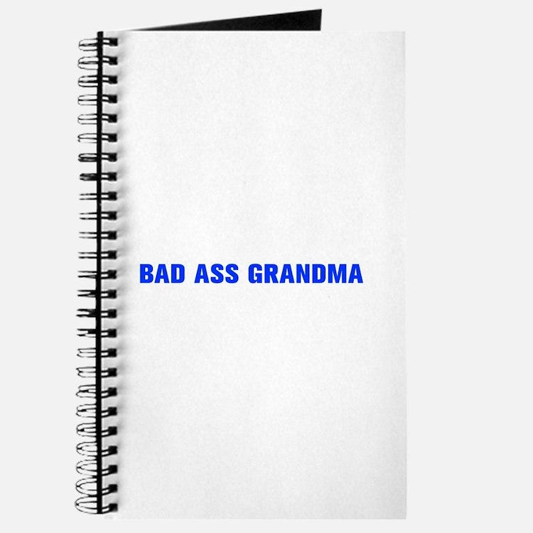 Bad Ass Grandma-Akz blue 500 Journal