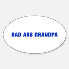 Bad Ass Grandpa-Akz blue 500 Decal