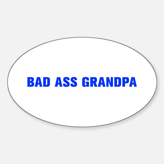 Bad Ass Grandpa-Akz blue 500 Decal