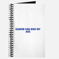 Cancer can kiss my ass-Akz blue 500 Journal